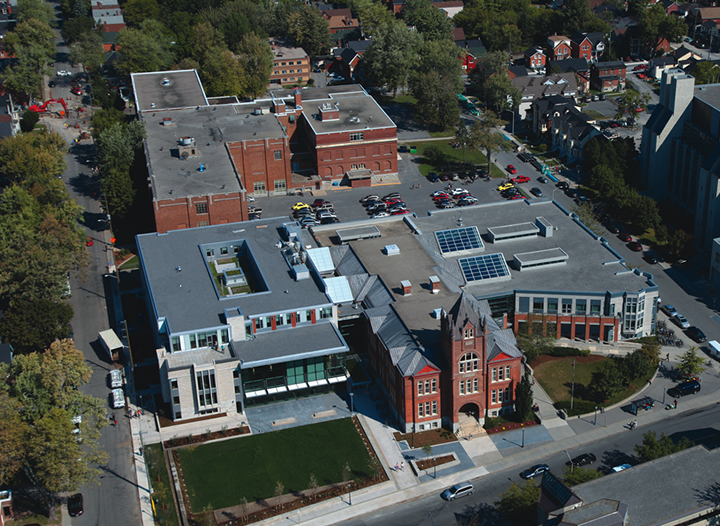Goodes Hall Aerial