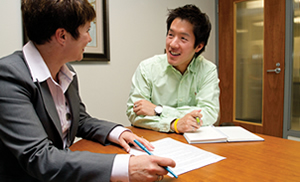 One-to-one coaching – a hallmark of Smith School of Business
