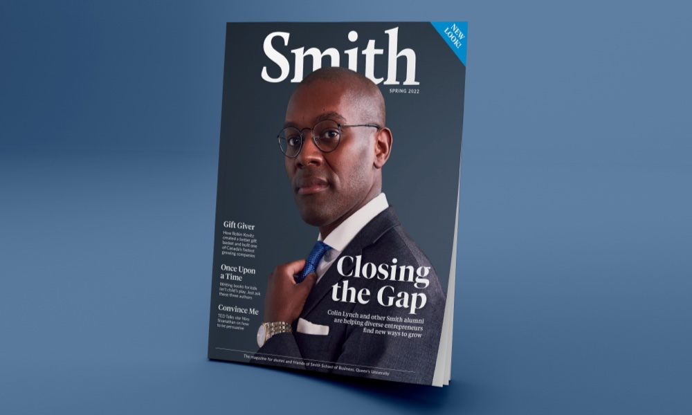 Cover of the current issue of Smith Magazine