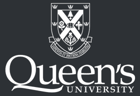 Queen's White Logo
